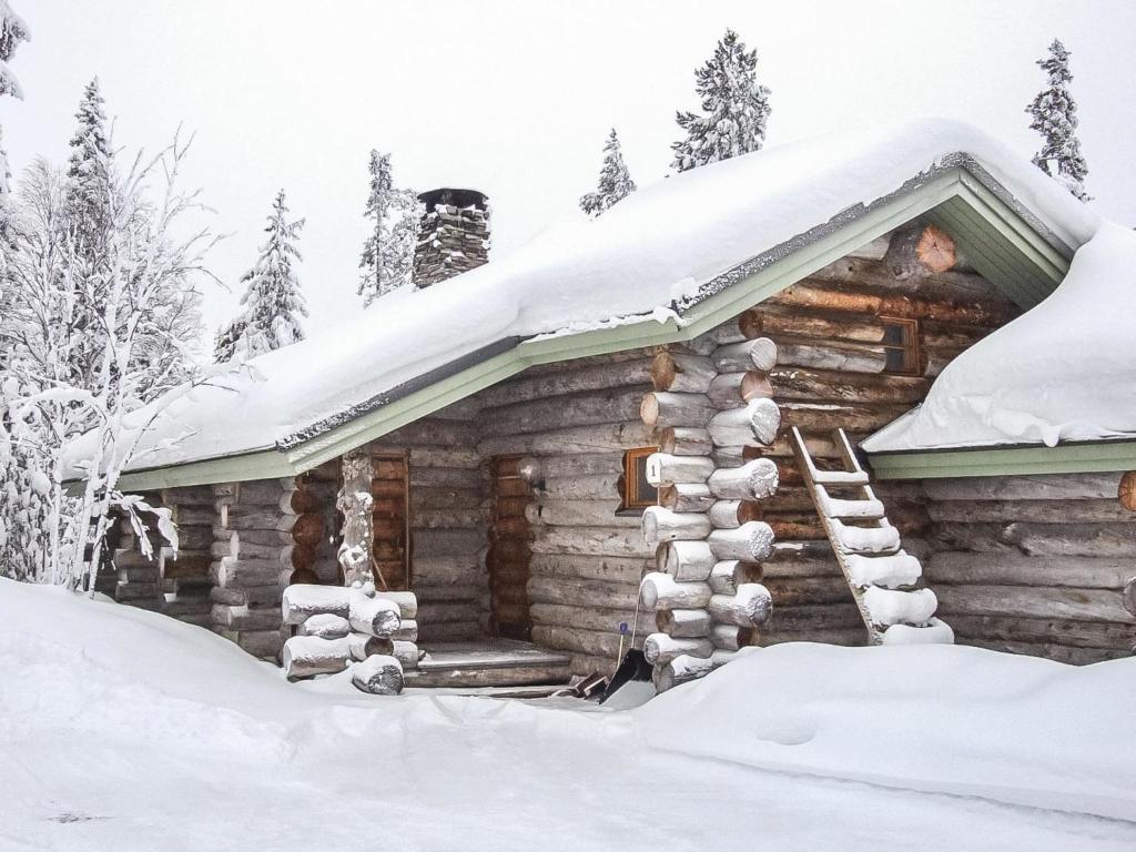 Holiday Home Kesäruka oy 1 talvella