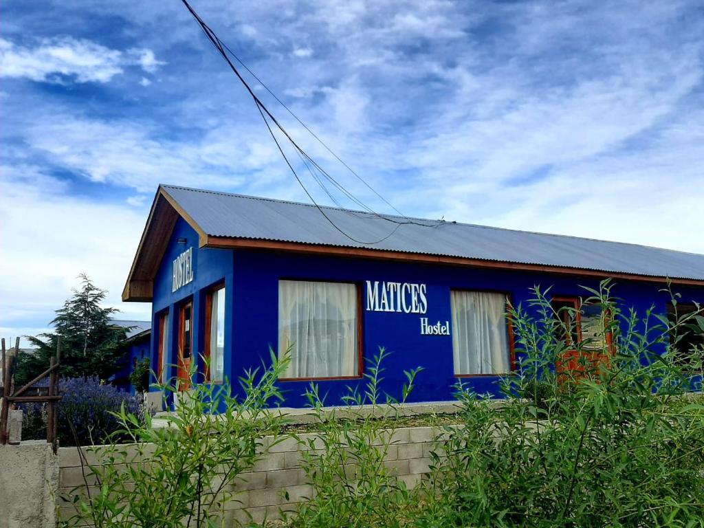 El edificio en el que está el hostel