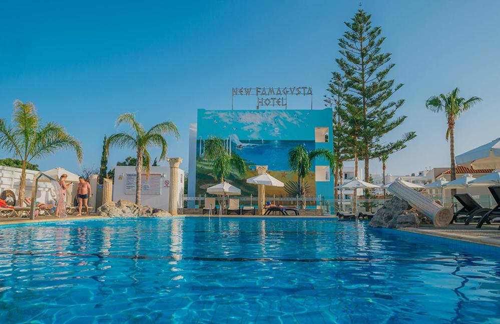 The swimming pool at or near New Famagusta Hotel & Suites