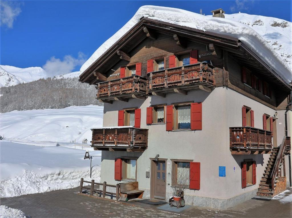 Appartamenti Lorenza v zimě