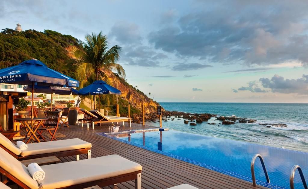 A piscina localizada em Pousada Bahia Bacana ou nos arredores
