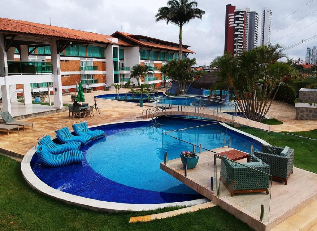 Бассейн в Hotel Village Premium Campina Grande или поблизости