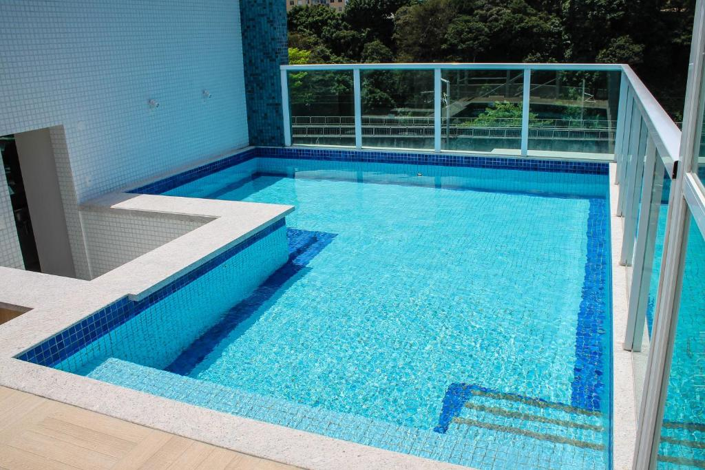 Бассейн в Aquarena Hotel или поблизости
