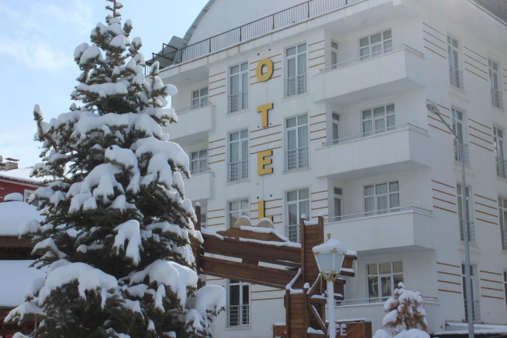 Borapark Otel during the winter
