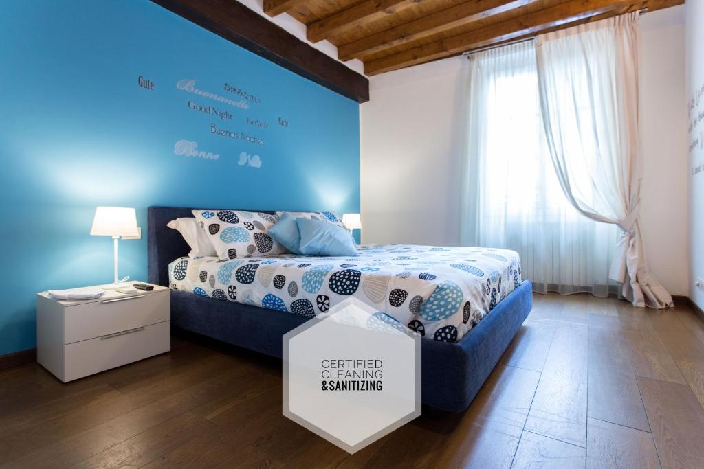 Letto o letti in una camera di Charming Milan Apartments Brera - Madonnina