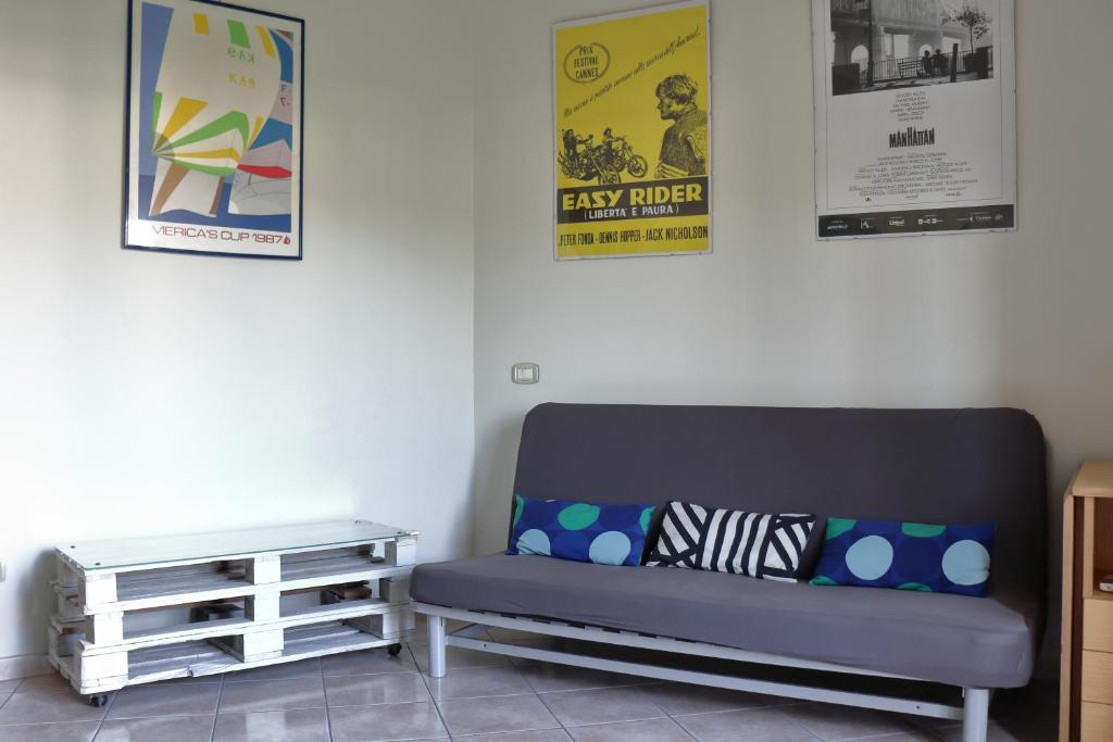 A seating area at Casa di Nina