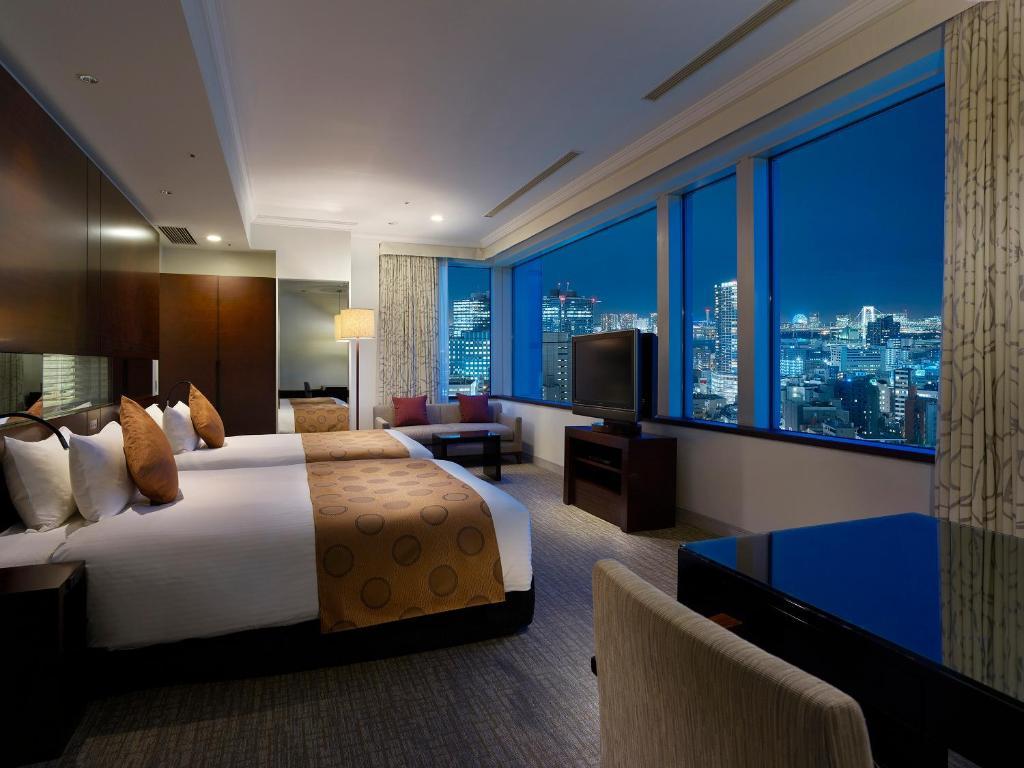 A room at The Celestine Tokyo Shiba.