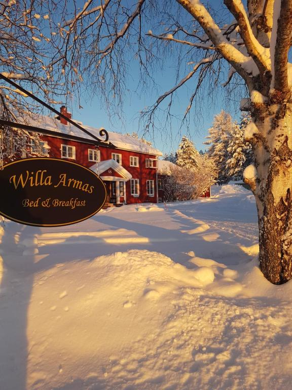 Willa Armas during the winter
