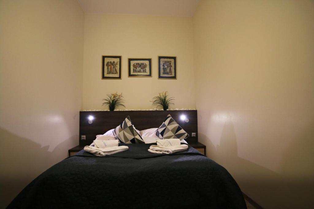 Łóżko lub łóżka w pokoju w obiekcie Baltic Home Międzyzdrojski Rynek