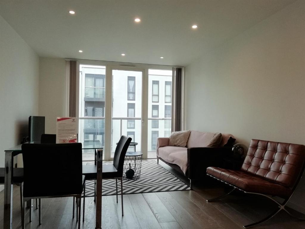 Zona de estar de Clerkenwell Serviced Apartments