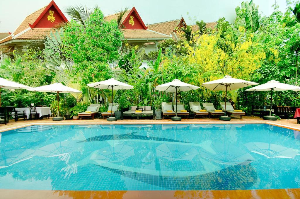 Het zwembad bij of vlak bij Sonalong Boutique Village & Resort