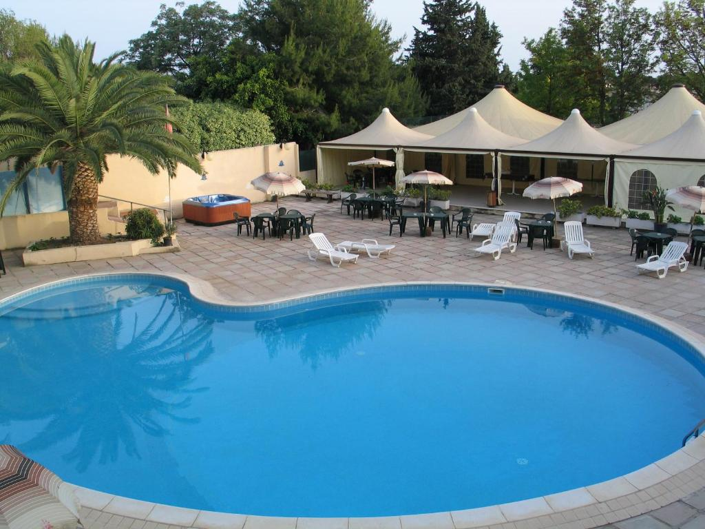The swimming pool at or near Hotel Califfo