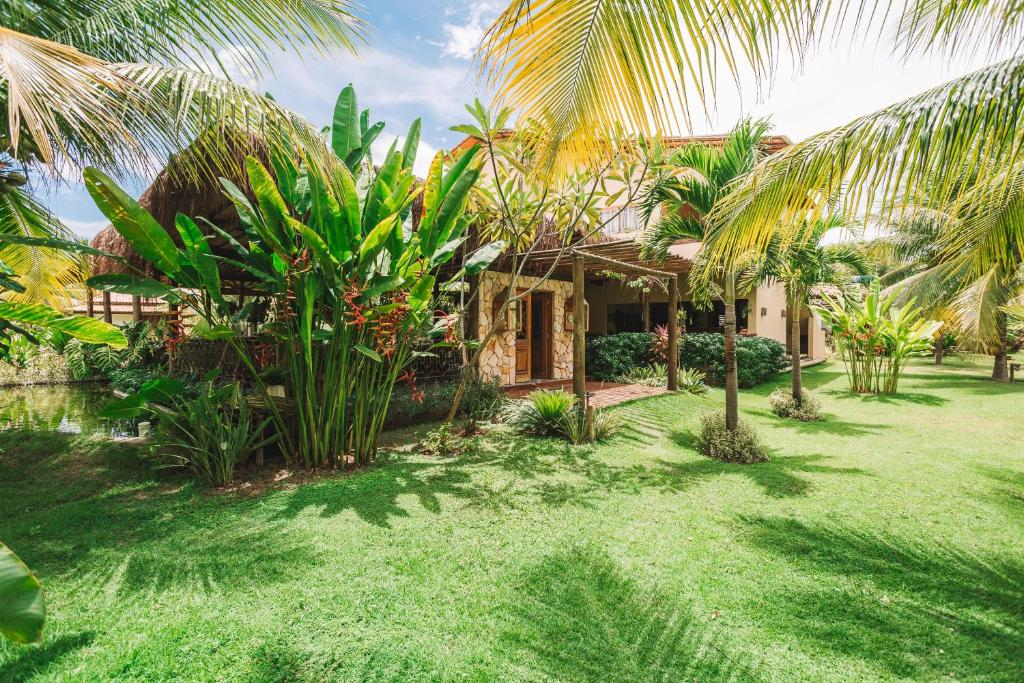 A garden outside Ocacocar - Milagres