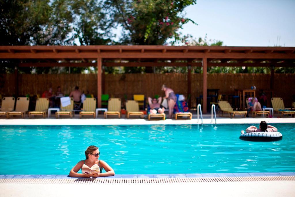 Πισίνα στο ή κοντά στο Sivila Hotel