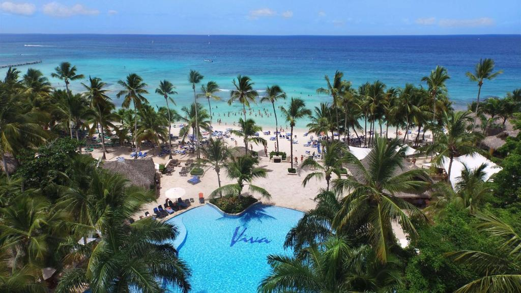 A view of the pool at Viva Wyndham Dominicus Beach - All-Inclusive Resort or nearby