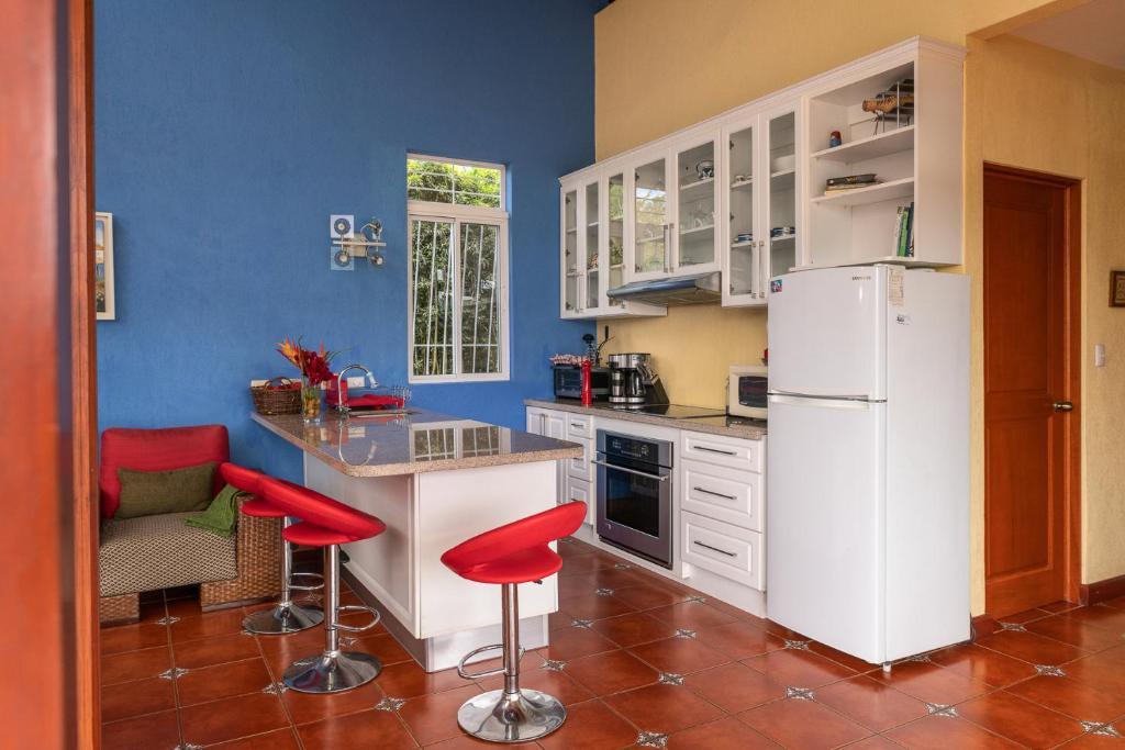 A kitchen or kitchenette at Casa Bartzis, Close to Orosi and Tapanti National Park