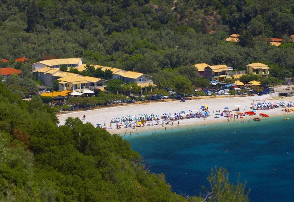 Άποψη από ψηλά του Rouda Bay Beach Hotel