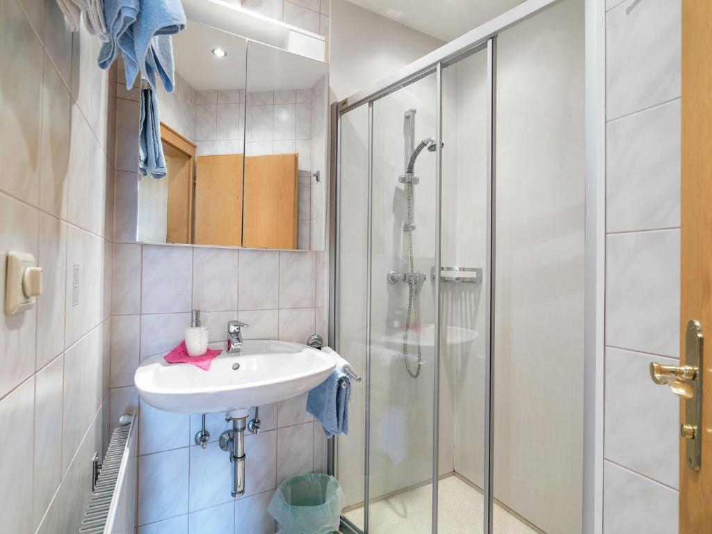 Ein Badezimmer in der Unterkunft Anja