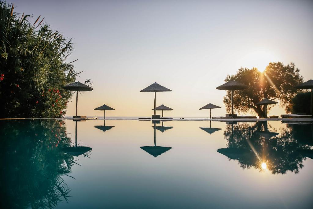 The swimming pool at or near Atlantica Eleon Grand Resort