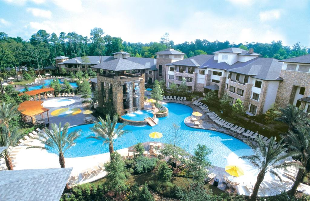 A view of the pool at The Woodlands Resort or nearby