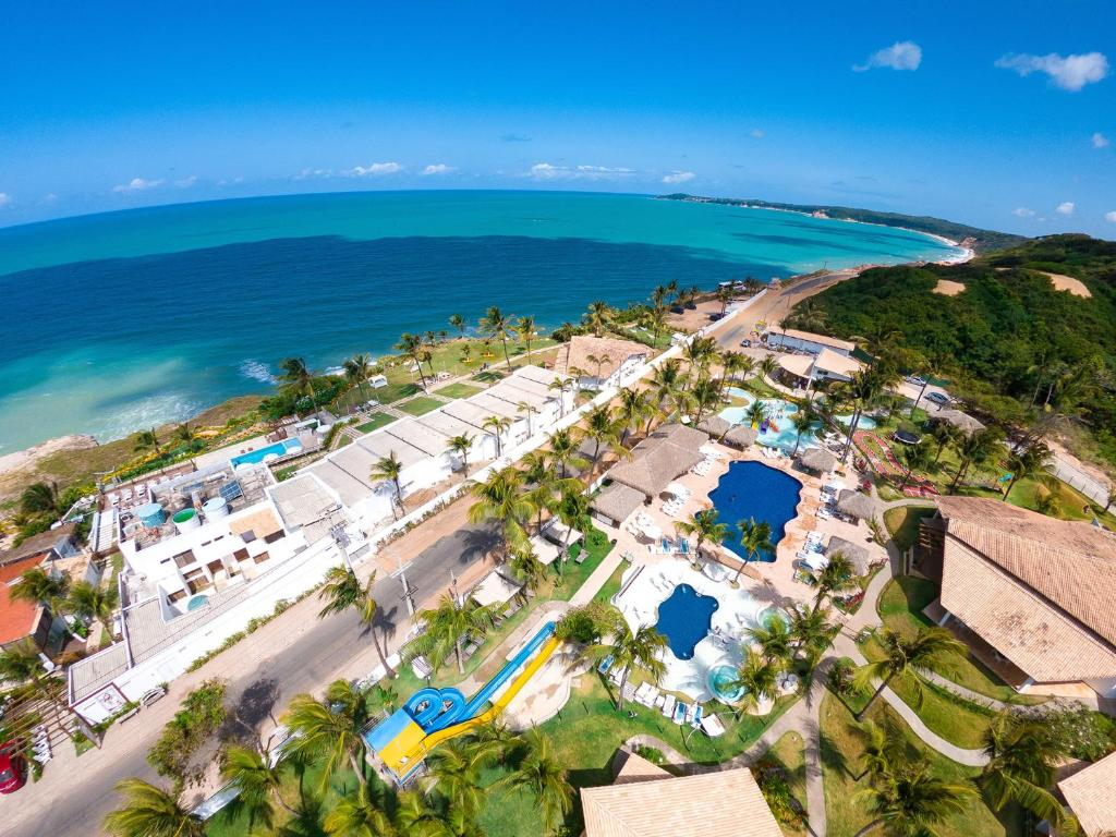 A bird's-eye view of Acquapipa Resort