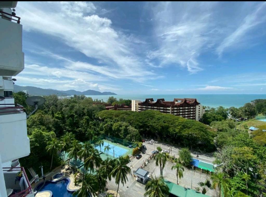 A view of the pool at Pantai Seaview Resort Batu Ferringhi 2104 or nearby
