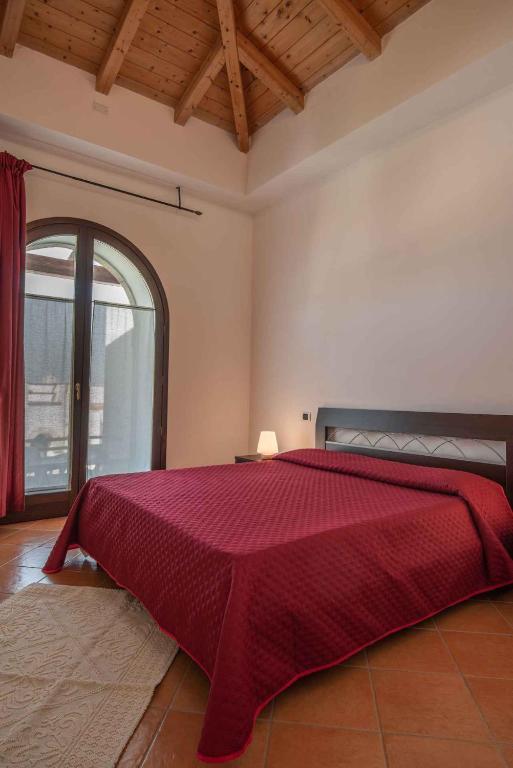 Letto o letti in una camera di Holiday home in Alghero 27155