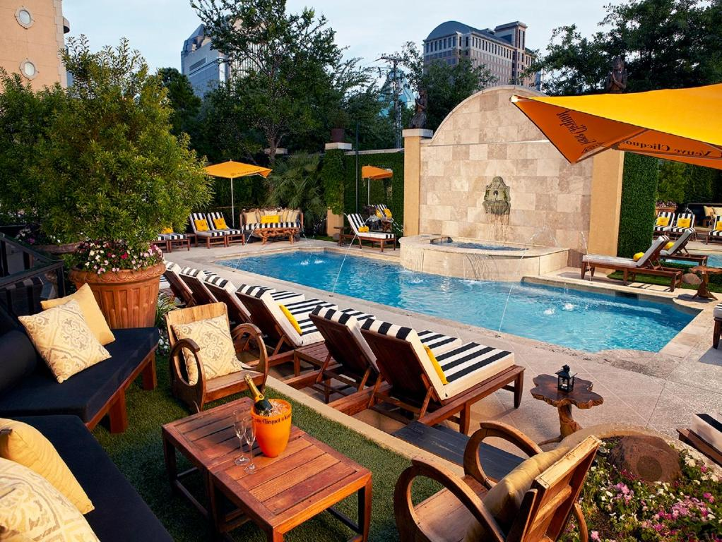 The swimming pool at or near Hotel ZaZa Dallas