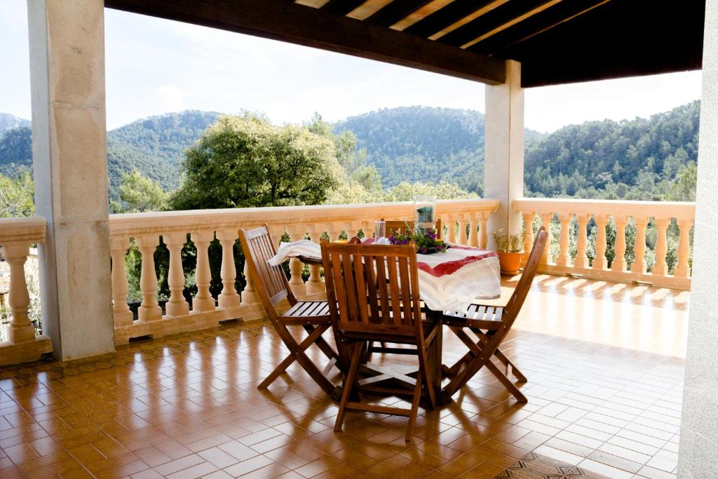 A balcony or terrace at Can Marquesi