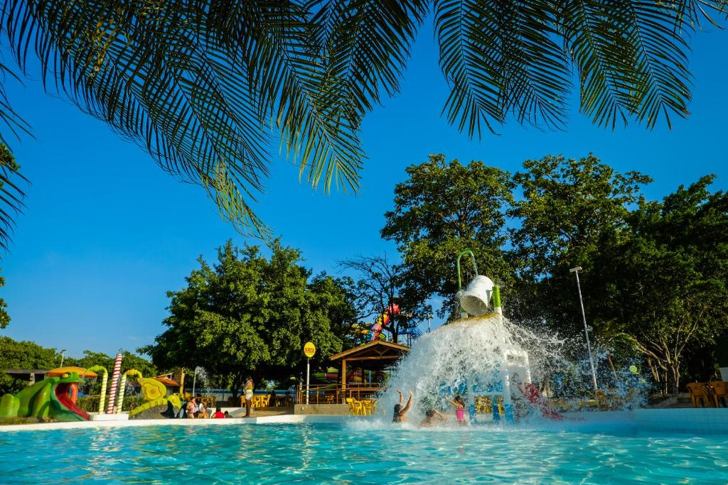 The swimming pool at or near Thermas Hotel Mossoró
