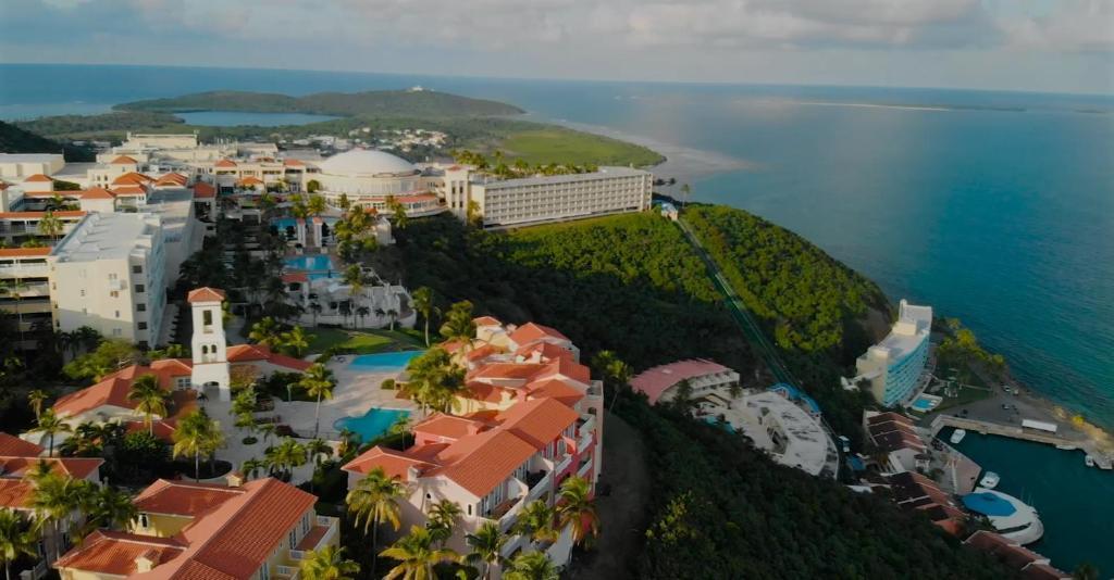 A bird's-eye view of El Conquistador Resort - Puerto Rico