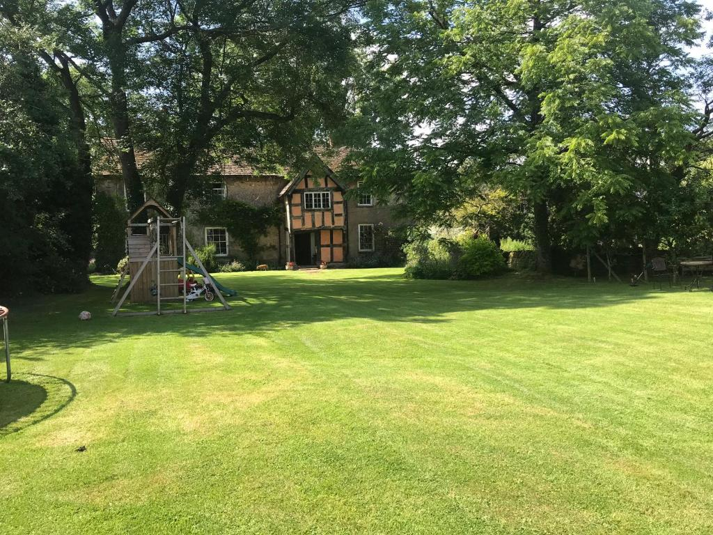 Children's play area at Wickton Court