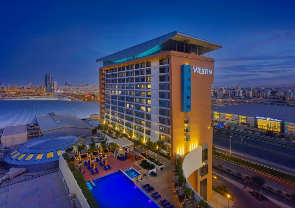 A view of the pool at The Westin City Centre Bahrain or nearby