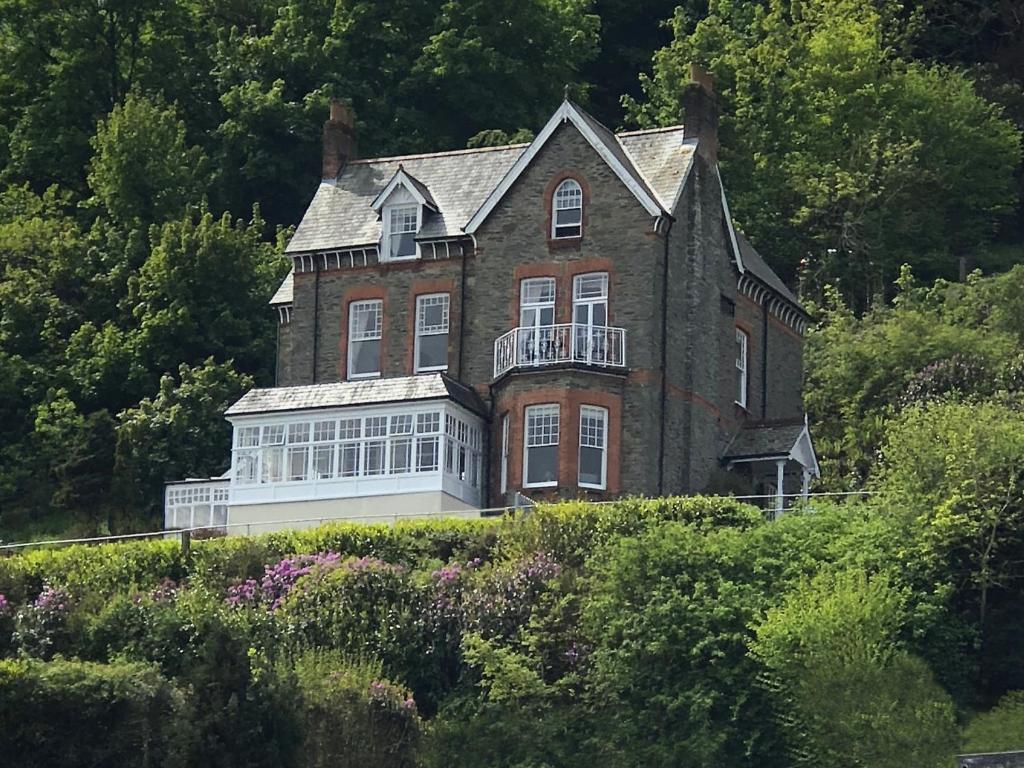 Highcliffe House in Lynton, Devon, England