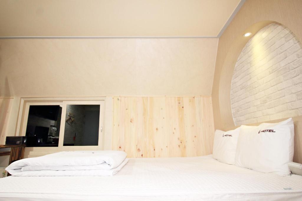 Cama o camas de una habitación en 9st Traveltel