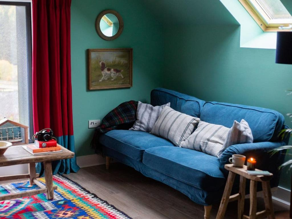 A seating area at The Hayloft - UK7200
