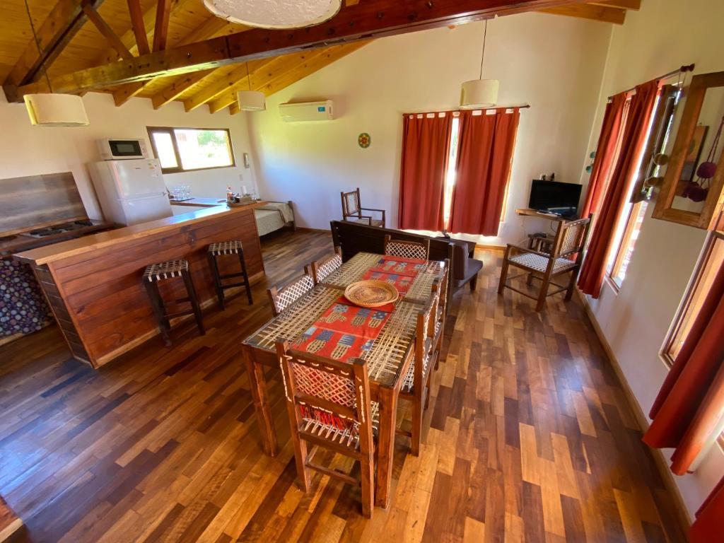 Un lugar para sentarse en Cabaña El Churqui
