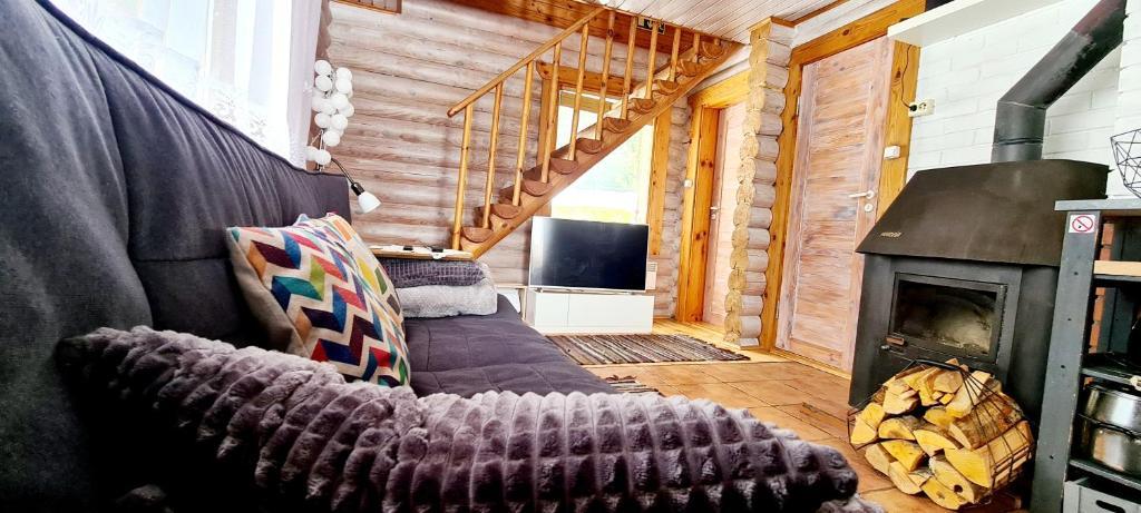Istumisnurk majutusasutuses Partsilombi Holiday Home