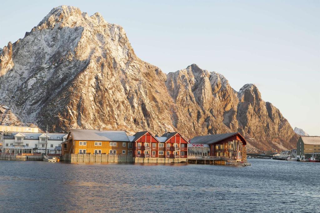 Scandic Svolvær during the winter