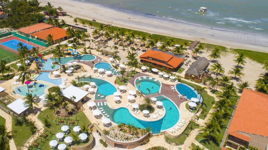 Uma vista aérea de Salinas Maragogi All Inclusive Resort