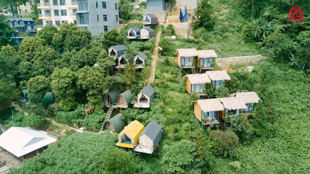 A bird's-eye view of Homestay 90s Tam Dao