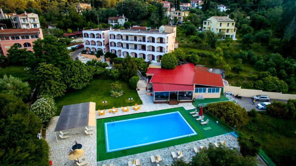 Een luchtfoto van Margarita Aparthotel