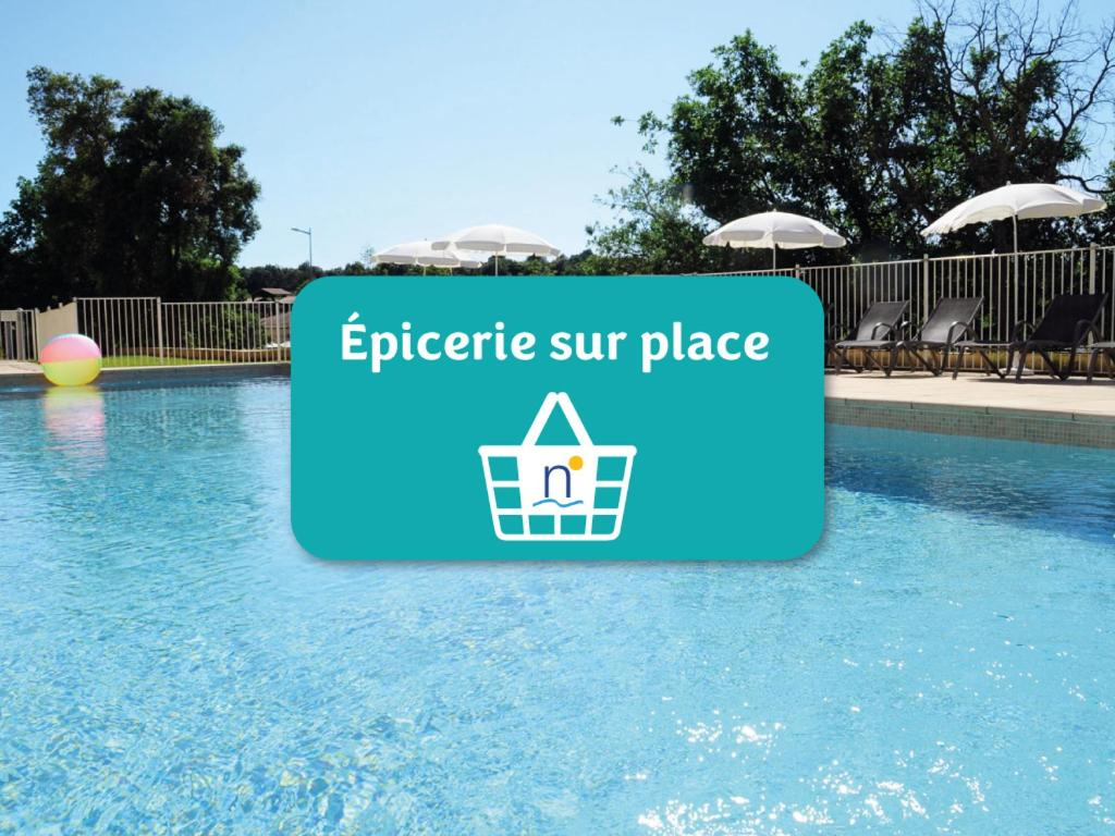 The swimming pool at or near Néméa Appart'hotel Green side Biot Sophia Antipolis