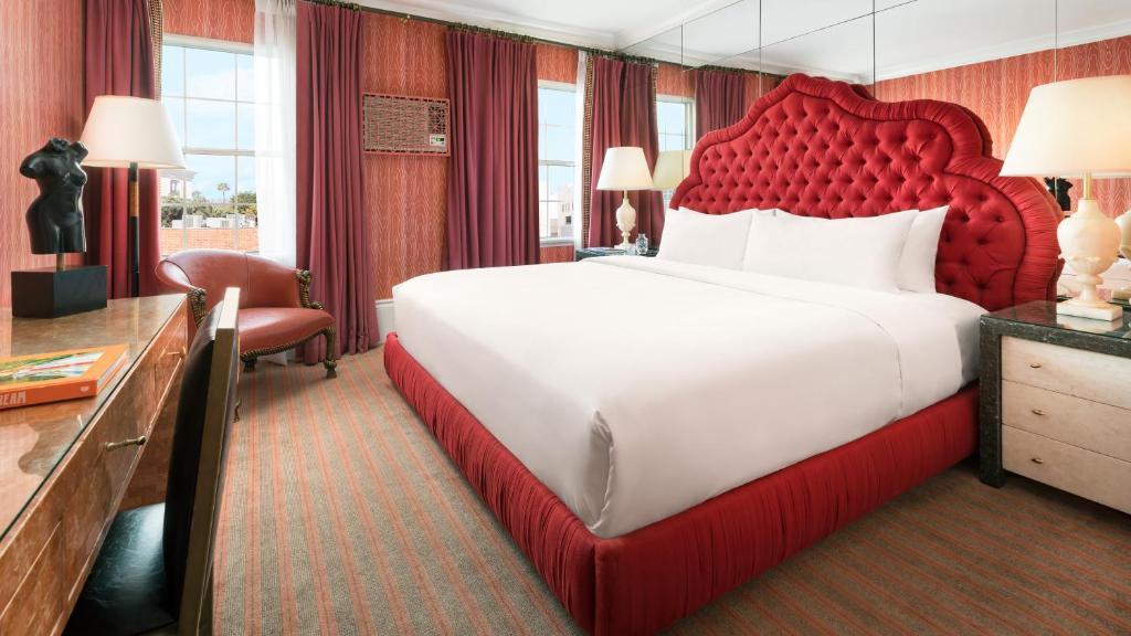 Cama o camas de una habitación en Maison 140 Beverly Hills