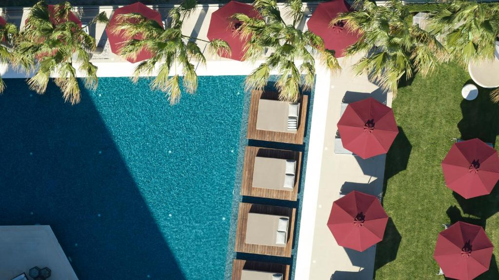A view of the pool at Aqua Blu Boutique Hotel & Spa, Adults Only- Small Luxury Hotels of the World or nearby