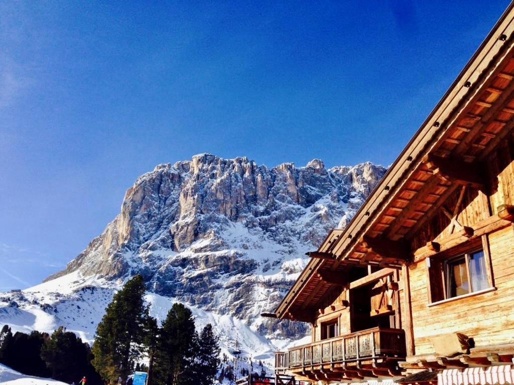 Sulle piste del comprensorio Civetta con vista panoramica sul Monte Pelmo during the winter