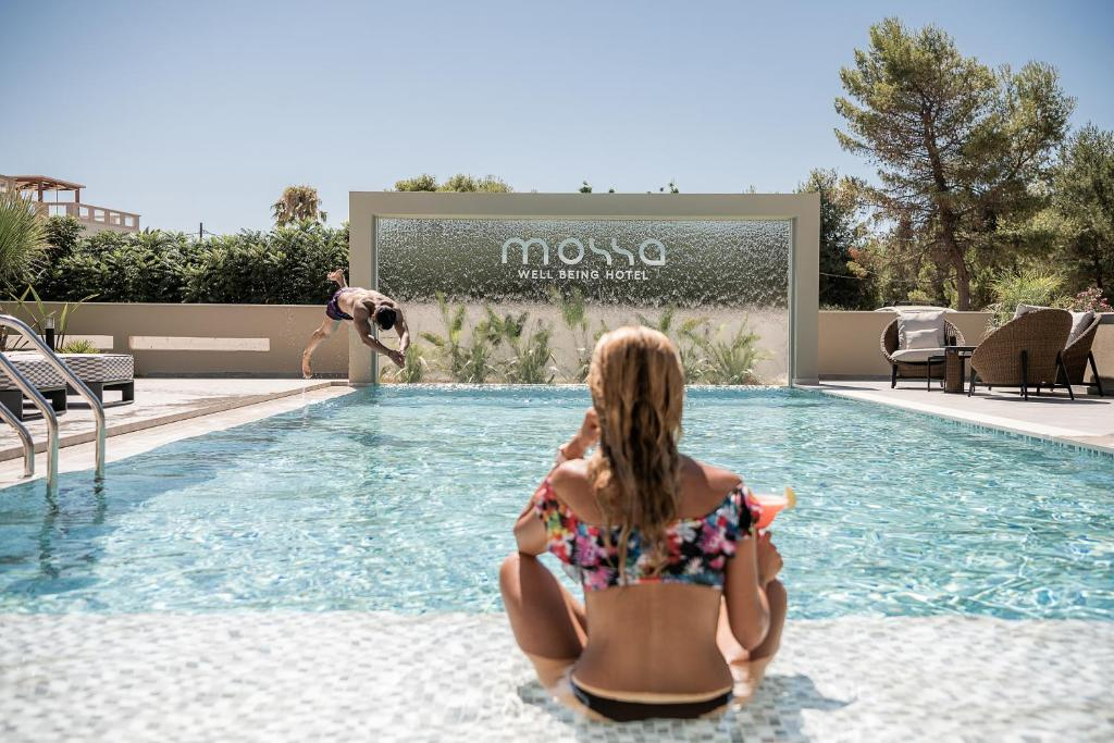 The swimming pool at or close to Mossa Well Being Hotel