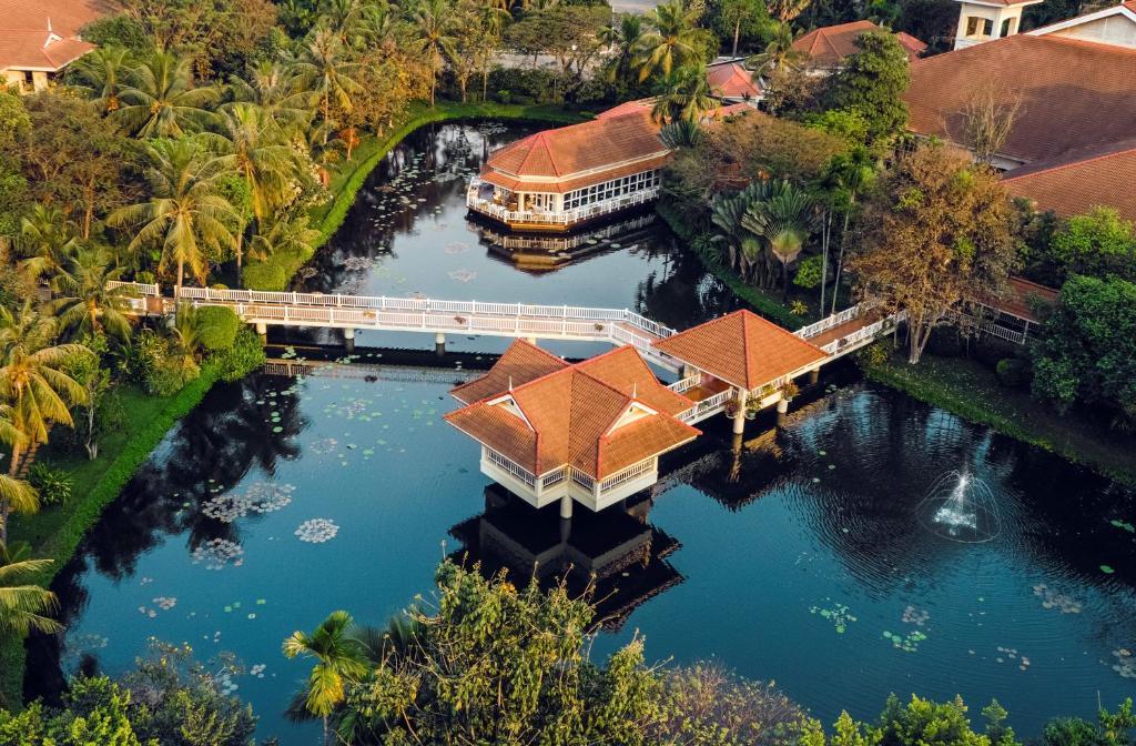 A bird's-eye view of Sofitel Angkor Phokeethra Golf & Spa Resort