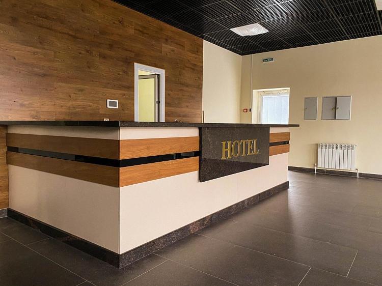 Лобби или стойка регистрации в Гостиница Минутка