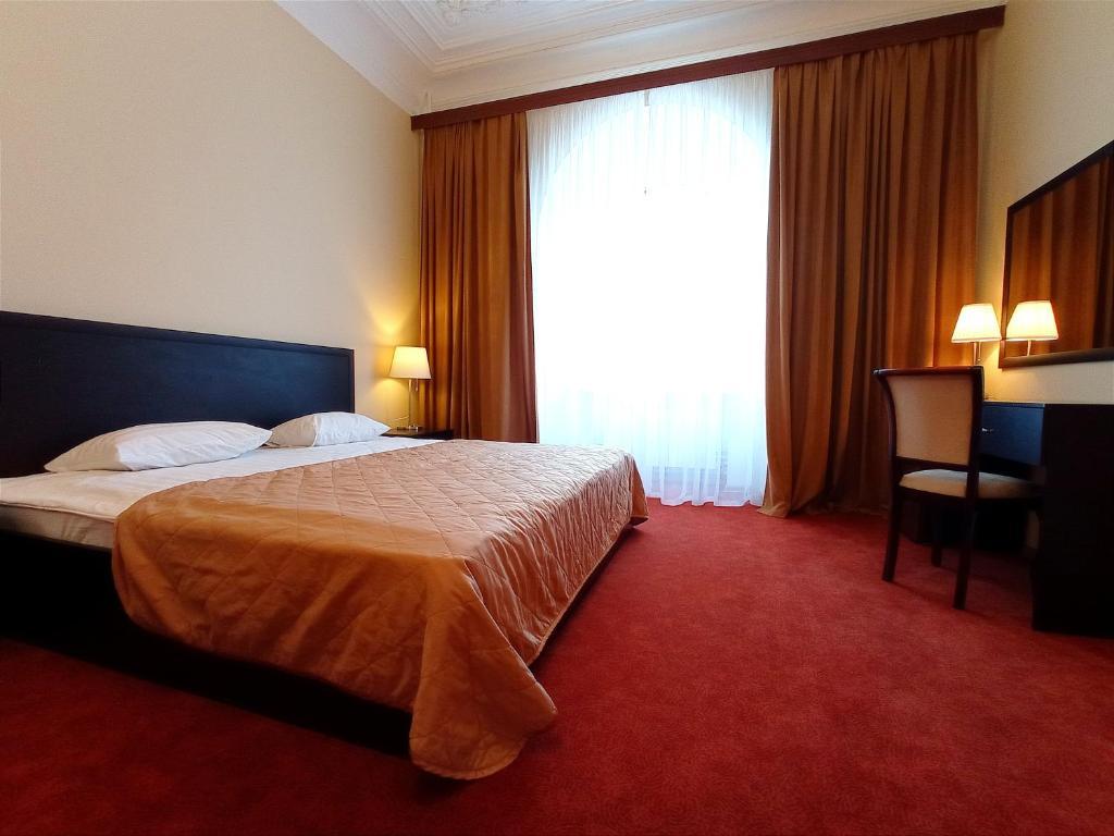 Cama o camas de una habitación en Sonata at Palace Square